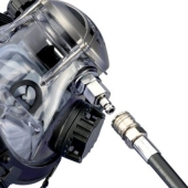 OCEAN REEF DIVING FULL FACE MASK ACCESSORIES EXTRAFLEX QUICK CONNECT HOSE 110€